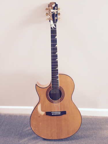 My Main Guitar - 1988 William (Grit) Laskin